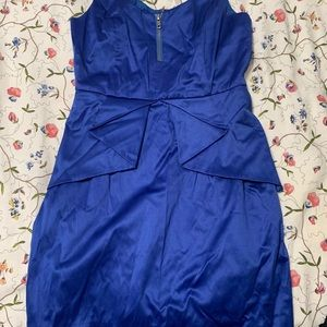 BCBG size 2 mini dress blue